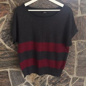 Short Sleeved Mexx Striped Sweater